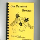 Our Favorite Recipes Cookbook Regional Ohio Seed and Weed Garden Club