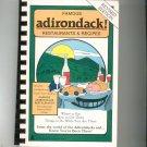 Famous Adirondack Restaurants & Recipes Cookbook Signed Revised Edition 0961559500