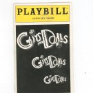 Playbill Guys And Dolls Martin Beck Theatre Souvenir Program 1993