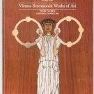Sotheby's Vienna Secessionist Works Of Art October 11 1986 Catalog With Price List