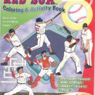 Boston Red Sox Coloring & Activity Book by Connery Boyd & Fitzgerald 0979087279