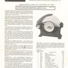 Prairie Wet Grindstone Model G7 V Instructions and Parts List