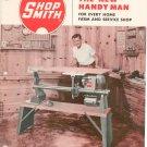 Vintage Shop Smith Complete Power Workshop Catalog 1952 Magna Engineering