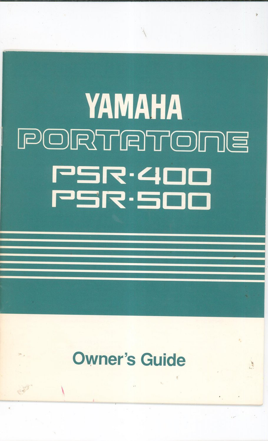 yamaha portatone psr 400 psr 500 owners guide manual not pdf. Black Bedroom Furniture Sets. Home Design Ideas