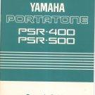 Yamaha Portatone PSR 400 PSR 500 Owners Guide Manual Not PDF