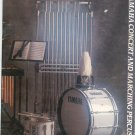 Yamaha Concert & Marching Percussion Catalog