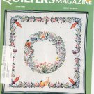 Quilter's Newsletter Magazine June 1986 Issue 183 Not PDF