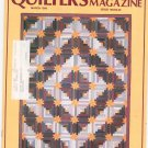 Quilter's Newsletter Magazine March 1986 Issue 180 Not PDF