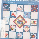 Quilter's Newsletter Magazine July August 1984 Issue 164 Not PDF
