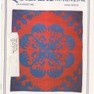 Quilter's Newsletter Magazine July August 1982 Issue 144 Not PDF