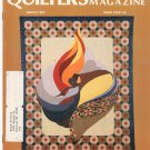 Quilter's Newsletter Magazine March 1983 Issue 150 Not PDF