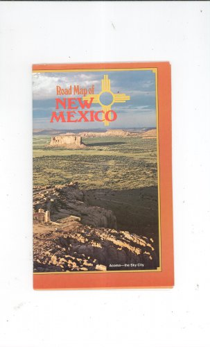 Road Map Of New Mexico Brochure 1980's ? Camping & Recreation