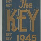 The Key 1945 Year Book Benjamin Franklin Yearbook Rochester New York High School Vintage