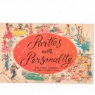 Vintage Parties With Personality Party Booklet In THe Canadian Way Brewers Association Canada