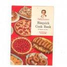 Betty Crockers Bisquick Cook Book Cookbook Vintage Item