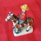 Vintage Canadian National Exhibition Toronto Canada Salt & Pepper Shakers Horse Mounted Police