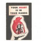 Vintage Your Heart Is In Your Hands Pamphlet Ford Motor Company