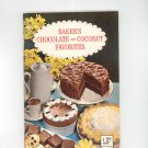 Baker's Chocolate And Coconut Favorites Cookbook Vintage First Printing
