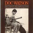 The Songs Of Doc Watson Folk Music Book Oak Publications