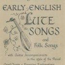 Early English Lute Songs & Folk HFA 7 Guitar John Runge's Collection Hargail Music
