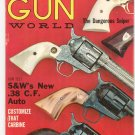 Vintage Gun World Magazine March 1962 Dangerous Sniper .38 C.F. Auto Not PDF