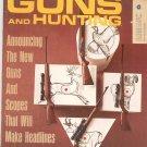 Vintage Guns And Hunting Magazine September 1963 New Guns & Scopes Not PDF