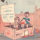 Sailormen Sheet Music For Voice And Piano Roth & Wolfe Schirmer