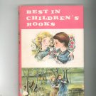 Best In Children's Books Volume 34 Vintage Hard Cover With Dust Jacket