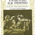 Overture Le Festin For Recorders Jean Hotteterre Dolmetsch Library