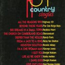 Hot Country Singles 1989 Edition Voice Piano Guitar Music Warner Brothers