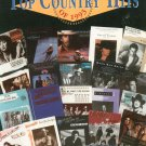 Top Country Hits Of 1993 Piano Vocal Guitar Music Warner Brothers 0897240715