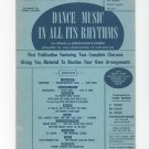 Dance Music In All Its Rhythms Vintage Segure Leeds Library 1 Eb Book