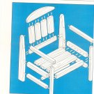 3 Piece Country Outdoor Furniture Blueprint Plans Chair Table Bench