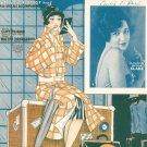 Vintage Let It Rain Let It Pour Sheet Music Walter Donaldson Leo Feist