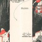 Vintage Barcelona Sheet Music Tolchard Evans Leo Feist