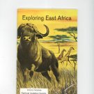 Exploring East Africa Vintage Science Service Program Doubleday
