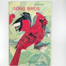 Song Birds Vintage Science Program National Audubon Society Doubleday