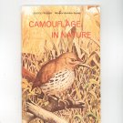 Camouflage In Nature Vintage Science Program National Audubon Society Doubleday