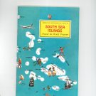 South Sea Islands Around The World Program Vintage Geographical Society Doubleday