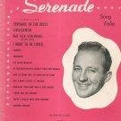 Bing Crosby's Serenade Song Folio Vintage Edwin Morris & Company Music