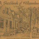 A Sketchbook Of Williamsburg by Vernon Wooten Pen & Ink Drawings