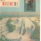 Vintage Spotlighting Missouri Travel Guide Winter 1964-65 Advertisements