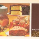 Vintage Betty Crocker's Basic Bakings Cookbook First Printing