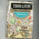 Thomaston American Mood Two Pillow Cases Yellow & Green Flowers In Package
