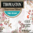 Thomaston American Mood One Twin Fitted Sheet Pink Flowers In Package