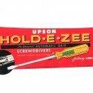 Advertising Label Hold E Zee Screwdriver Sticker Upson Tools Original Automatic Grip