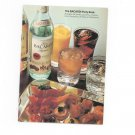 The Bacardi Party Book Cookbook Drinks Punches Snacks Entrees Vintage 1977
