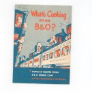 Vintage What's Cooking On The B & O Cookbook Baltimore & Ohio Railroad