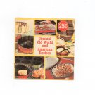 Vintage Unusual Old World and American Recipes Cookbook by Nordic Ware 1970's