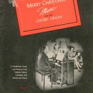 Merry Christmas Music For The Chord Organ Ethel Smith Music Vintage